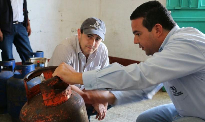 MEM FISCALIZA EXPENDIOS DE GAS Y GASOLINERAS EN QUESADA