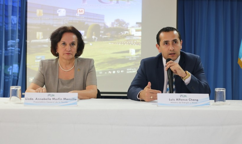 TÉCNICOS DEL MEM CAPACITAN A PROFESIONALES DE LA PGN