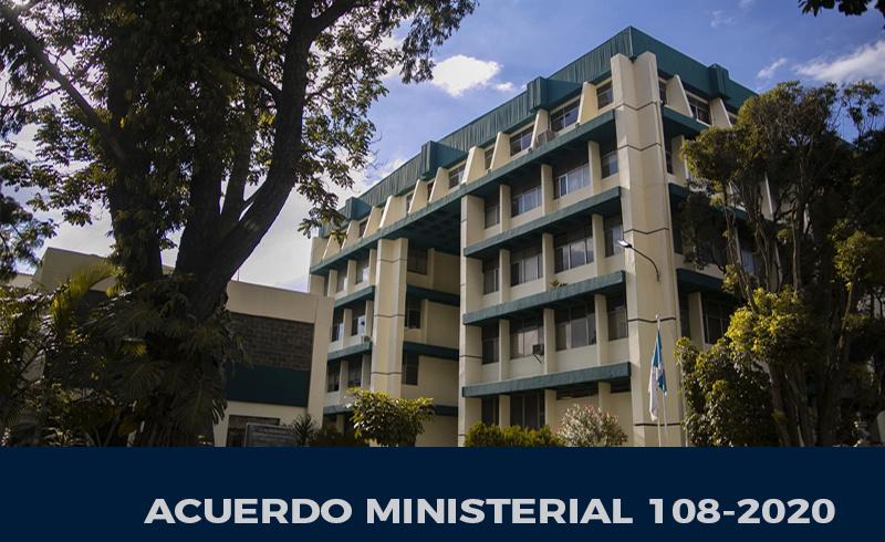 Acuerdo Ministerial 108-2020