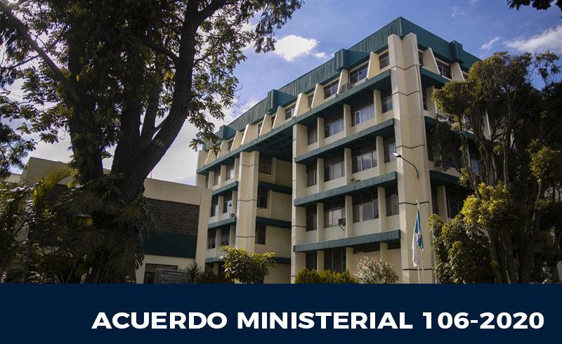 Acuerdo Ministerial 106-2020