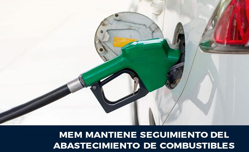 MEM mantiene seguimiento del abastecimiento de combustibles
