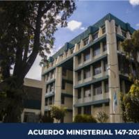 ACUERDO MINISTERIAL 147-2020