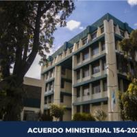 ACUERDO MINISTERIAL 154-2020