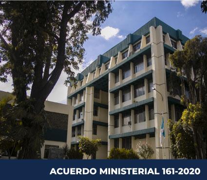 ACUERDO MINISTERIAL 161-2020