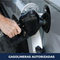 GASOLINERAS AUTORIZADAS PARA EL SÁBADO 25 y DOMINGO 26 DE JULIO DE 2020