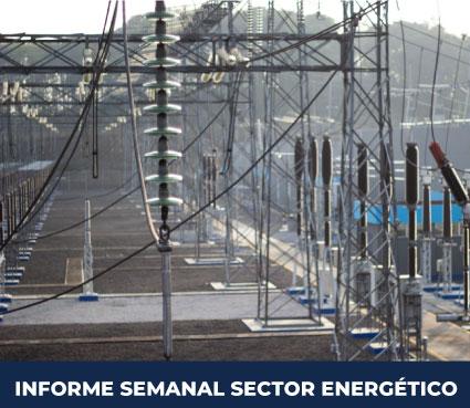Informe Semanal del Sector Energético del 17 al 23 de agosto del 2020