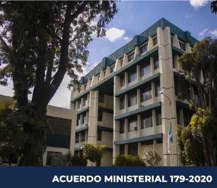 ACUERDO MINISTERIAL 179-2020